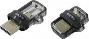 16Gb SanDisk Ultra Dual Drive m3.0 <SDDD3-016G-G46> USB3.0/USB micro-B OTGFlashDrive (RTL)