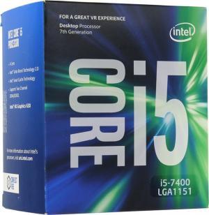 BOX Intel Core i5-74003 GHz/4core/SVGA HD Graphics630/6Mb/ LGA1151