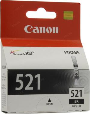 Canon CLI-521BK Blackдля PIXMA IP3600/4600,MP540/620/630/980