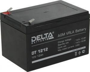 Аккумулятор Delta DT 1212 (12V,12Ah) для слаботочныхсистем
