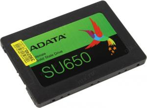 "SSD 480 Gb SATA 6Gb/s ADATA Ultimate SU650  <ASU650SS-480GT-R>  2.5""  3D TLC"