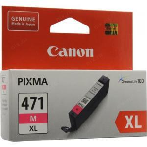 Чернильница Canon CLI-471M XLMagentaдля PIXMAMG5740/6840/7740