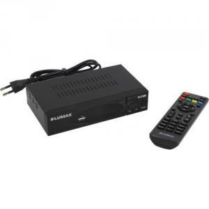 LUMAX <DV3208HD> (Full HD A/V Player, HDMI, RCA,USB2.0,DVB-T/DVB-T2/DVB-C,ПДУ)