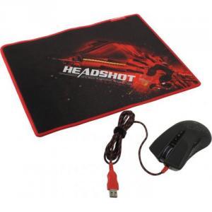 Мышь Bloody Gaming Mouse <A9071>(RTL)USB 8btn+Roll, коврик