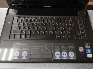 "Ноутбук Lenovo IdeaPad Y550C2D T6600 2.2Ghz/2Gb/320Gb/DVD-RW/GT240M 1Gb/WiFi/Win7HB/15.6"""