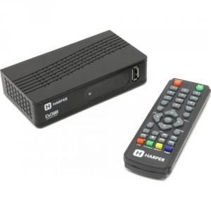 HARPER <HDT2-1514> (Full HD A/V Player, HDMI, RCA, USB2.0,DVB-T/DVB-T2, ПДУ)