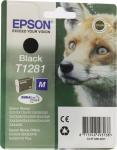 Картридж EPSON STILUS T1281<Black>дляEPS S22/SX125/420W/425W/BX305F/305FW