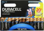 Батарейка AA Duracell TURBO MAX MX1500-12 (LR6)