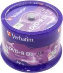 DVD+R 8,5 Gb Verbatim 8x DOUBLE LAYER Cake Box