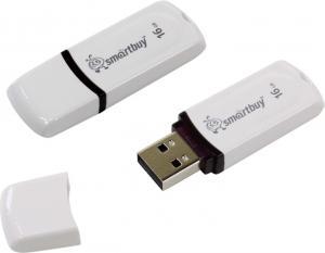 16Gb SmartBuy Paean <SB16GBPN-W> USB2.0 Flash Drive (RTL)