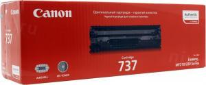 Canon 737 Black дляi-SENSYSMF210/220