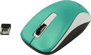 Мышь Genius Wireless BlueEye Mouse NX-7010 <Turquoise> (RTL) USB3btn+Roll (31030114109)