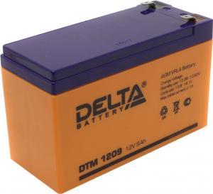 Аккумулятор Delta DTM 1209 (12V,9Ah)дляUPS