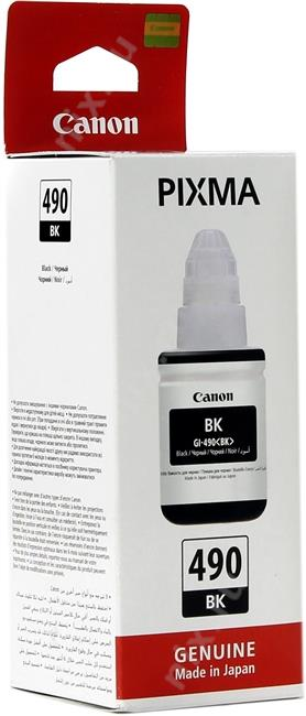 CANON GI-490BKBlack для PIXMAG1400/2400/3400